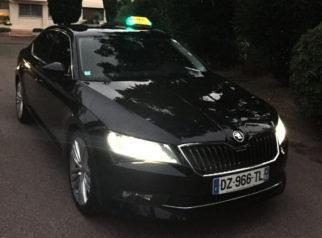 Taxi privé de lux à toulouse pour transport toute destination